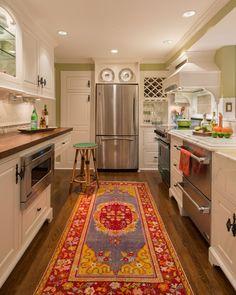 DesignMine Photo: Cottage Kitchen #designmine
