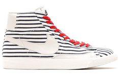 Une Nike Blazer façon marinière pour Roland-Garros - http://www.leshommesmodernes.com/nike-blazer-mariniere-roland-garros/