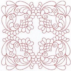 Embroidery Quilt Patterns | EMBROIDERY OUTLINE QUILTING DESIGN | Embroidery for Beginners