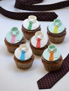 21 Ideas Cupcakes Decorados Dia Del Padre For 2019 Fondant Toppers, Fondant Cupcakes, Fun Cupcakes, Birthday Cupcakes, Cupcake Cookies, Cupcake Toppers, Fathers Day Cupcakes, Fathers Day Cake, Cap Cake