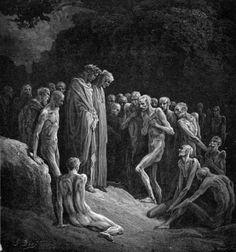 Gustave Doré, Divine Comedy, Purgatory