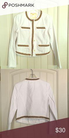 Michael Kors blazer with gold Size 6 KORS Michael Kors Jackets & Coats