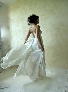 Tie-Back Wedding Gown | 40 Unique Wedding Dresses You Can Buy Online