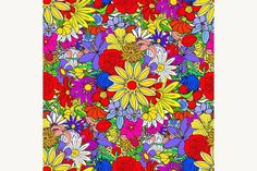 Seamless Floral Pattern. Patterns