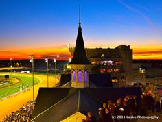 One of the most beautiful pictures of Churchill Downs I've ever seen