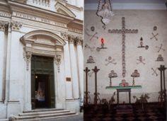 Chiesa di S.Maria dell'Orazione e Morte (Roma)... L'Erba della Strega