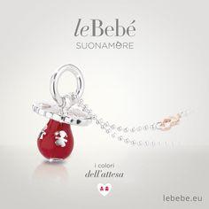 I Ciucci colorati di leBebé Suonamore, il gioiello per le mamme in attesa. Scopri la versione in argento e smalto rosso con catena in argento. :) http://www.lebebe.eu/it/collezioni/i_Ciucci_colorati #fieradiesseremamma #lebebé #suonamore #gioielli #mammeinattesa