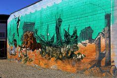 City mural in Port Orchard, Washington #art #artwork