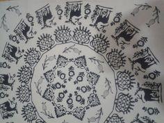 Hitit ve geyik desenleri  Kastamonu geleneksel kaliplar