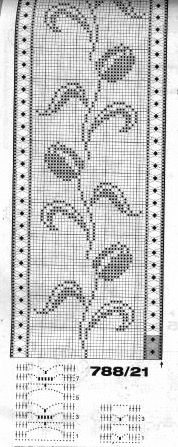 @nika Cross Stitch Borders, Cross Stitch Flowers, Cross Stitch Patterns, Knitting Patterns, Crochet Patterns, Crochet Curtains, Crochet Doilies, Crochet Flowers, Filet Crochet Charts
