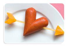 ¡Comidas divertidas para San Valentín!
