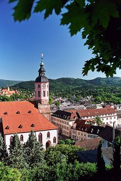 Bezoek het gezellige stadje Baden-Baden