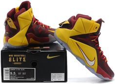 brand new 29269 f2993 Lebron 12 P.S Elite Yellow Win Red White0 Nike Lebron, Air Jordans,  Sneakers Nike