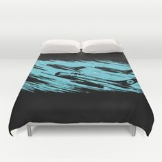 """Earth Aerospace Force"" Duvet Cover on Society6"