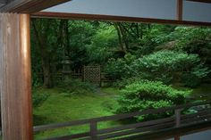 View from tea house