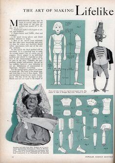 The Art of Making Lifelike Marionette Bodies | Modern Mechanix