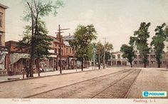 Flushing postcard post card - Main Street, Flushing, NY  my home town