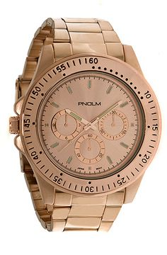 $45 PNDLM The Independent Watch in Rose Gold - Use repcode SMARTCANUCKS for 10% off on #PLNDR - http://www.lovekarmaloop.com