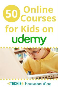 Udemy is a great resource for any techie homeschool family. Each of Udemy's…