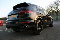 Porsche Cayenne S E-Hybrid New Car Protection Treatment at Ultimate Detailing Studio, Brands Hatch, Kent