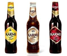 Flavoured beers from Poland, Karmi. Non Alcoholic Beer, Alcoholic Beverages, Free Beer, Drinks Cabinet, Polish Recipes, Alcohol Free, Beer Bottle, Wines, Poland