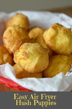 Easy air fryer hush puppies This delicious Fish Recipes is so flavorful. Fish Recipes Healthy Tilapia, Easy Fish Recipes, Salmon Recipes, Healthy Recipes, Couple Cooking, Baked Fish, Baking Recipes, Fish Fryer, Good Food