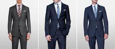 Simon Nessman одет в шикарные костюмы для журнала Details 2013 года.