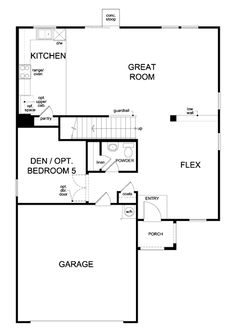KB Homes 1768 Floor Plan via nmhometeamcom KB Homes Floor Plans
