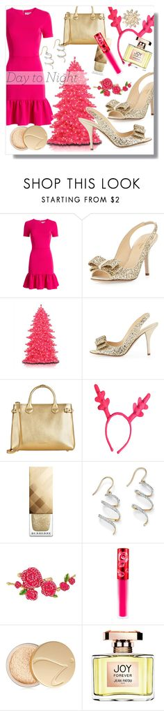 """Day to Night Holiday"" by nancyreo ❤ liked on Polyvore featuring Opening Ceremony, Kate Spade, Burberry, Palm Beach Jewelry, Betsey Johnson, Lime Crime, Jane Iredale, Jean Patou and Talbots"