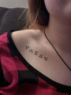 The Witcher- Collarbone Tattoo Unisex