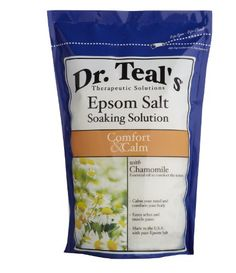 Dr. Teal`s Epsom Salt Soaking Solution, Chamomile