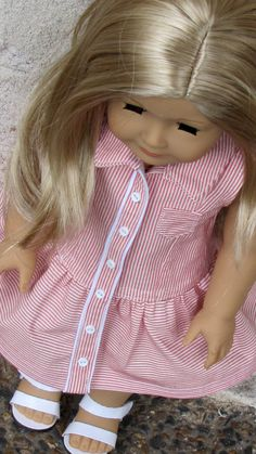 American Girl Doll Yachting Outfit