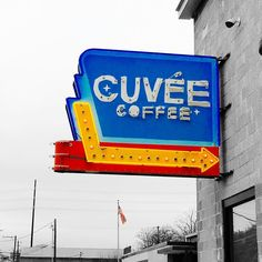 Black & Blue at Cuvee Coffee! by jackmurrayatx