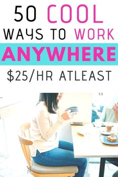 50 cool ways to work from anywhere Are you looking for legitimate work from home jobs? Here are 50 work from home jobs, online jobs, remote jobs, freelancing and creative jobs Work From Home Careers, Work From Home Companies, Legitimate Work From Home, Work From Home Tips, Make Money From Home, Make Money Online, How To Make Money, Work At Home Jobs, Kreative Jobs