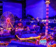 Miniatur Wunderland in Hamburg, Germany: the largest model train museum in the world