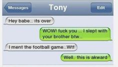 Extremely Shocking Leaked Texts Of People Caught Cheating