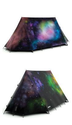 """""""Spacious"""" or shall I say, Space-ious Tent by FieldCandy // clever and beautiful #productdesign"""