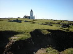 Eshaness Lighthouse, North Mainland, Shetland .