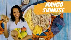 This breakfast is a healthy, tropical and colorful option for a powerful start into your day. It is also an ideal choice for a late brunch on a lazy Sunday. Lazy Sunday, Food Videos, Mango, Brunch, Tropical, Colorful, Healthy, Breakfast, Manga