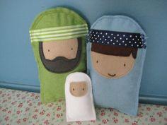 felt nativity...@Jenni Robertson