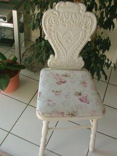 """Vintage Stühle - shabby """"zauberhafter Stuhl"""" Rose - ein Designerstück von Manus-kleine-Vintage-Schatzkiste bei DaWanda"""