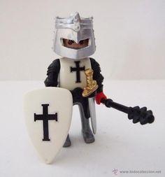 Playmobil Templario, caballero medieval custom, Cruzado