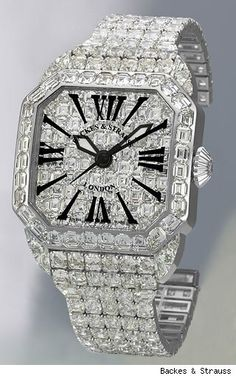 Backers & Strauss Royal Berkeley Limited Edition 1,5 million Watch