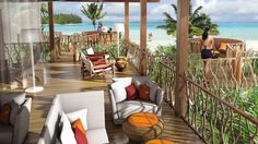 The brando hotel, tahiti