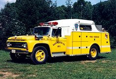 ◆Bartow, MD FD 1962 Ford F700/Gerstenslager Heavy Rescue Squad◆