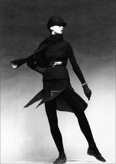 Jean Shrimpton photographed by Patrick Lichfield for Vogue, November 1970.