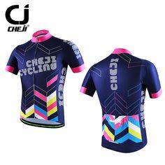 Cheji ciclismo jersey reflectantes hombres bike mtb camisetas bicicleta mountain bike ropa deportiva top púrpura de la chaqueta s-xxxl