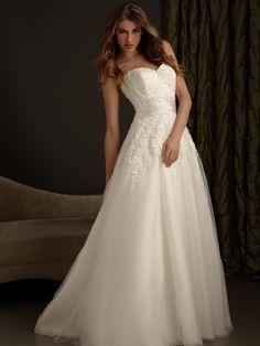 2014 New Style Romance Allure Wedding Dresses 2416
