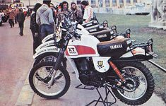 Yamaha XT 500 Paris-Dakar by french Yamaha Importer Sonauto (1978)