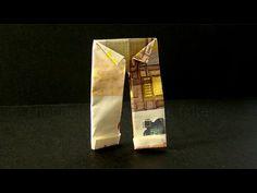Geldschein falten: Hemd - Geldgeschenke basteln Hochzeit - Geld falten - Kleidung - Trikot - YouTube